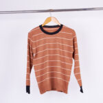 SWEATER BREMER LINEAS - terracota - unico