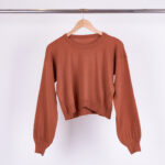 SWEATER BREMER ABUCHADO - natural - unico