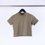 REMERA JERSEY LYCRA RECORTE SISA - natural - unico