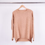SWEATER  ALGODON TRENZADO - natural - unico